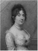 First Lady Dolley Madison removed White House valuables to safety