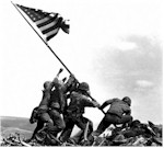 Today in History: Marines Hoist Flag At Iwo Jima ... click to read about it!