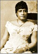 Princess (later Queen) Liliuokalani in 1862